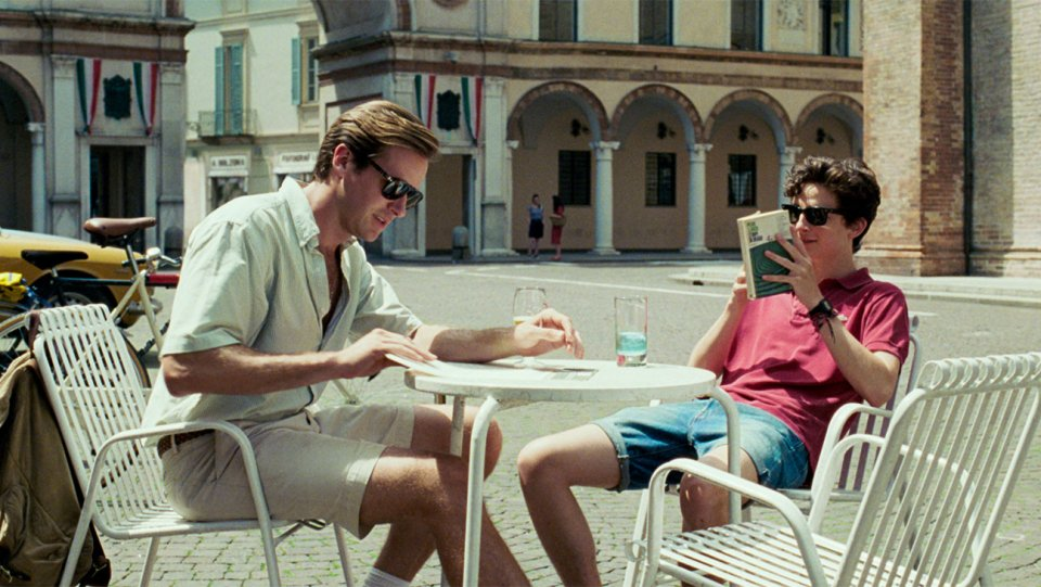 'Call Me by Your Name' 2017